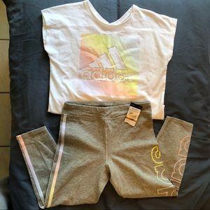 New adidas matching set